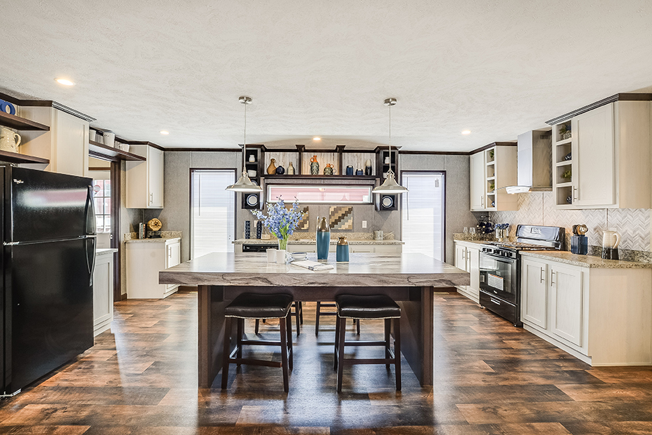How To Style Open Kitchen Shelving Best Buy Homes